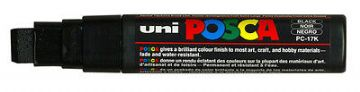 UNI POSCA MARKER PENS PC-17K JUMBO CHISEL TIP - BUY 3 GET ANOTHER 1 FREE